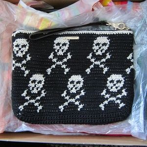NWOT rebecca minkoff clutch women bags black white
